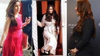 Pregnant Kareena Kapoor Ultimate Fashion Style to flaunt Baby Bump