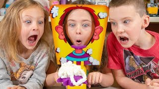 Pie Face Game Surprise Toy Challenge | Rainbow Bag Blind Bags Toys for Boys & Girls Kinder Playtime