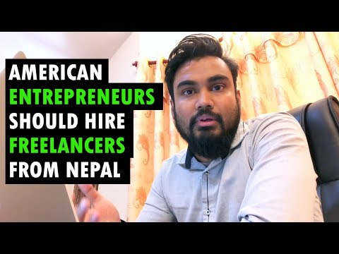 Why American Entrepreneurs Should Hire Freelancers from Nepal