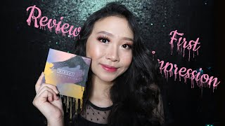 FULL FACE USING MINUET PALLETE || REVIEW + FIRST IMPRESSION