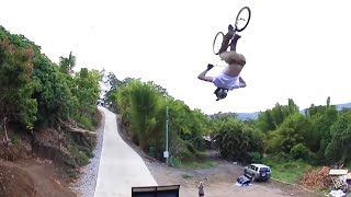 Squirrel Escapes From Hungry Hawk