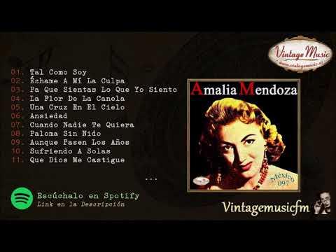 Amalia Mendoza. Rancheras, Colección Mexico #97 (Full Album/Album Completo)