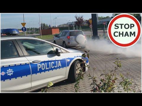 Instant karma czyli łamiemy przepisy i szybkie spotkanie z Policją - [Na 500 odcinków Stop Cham]