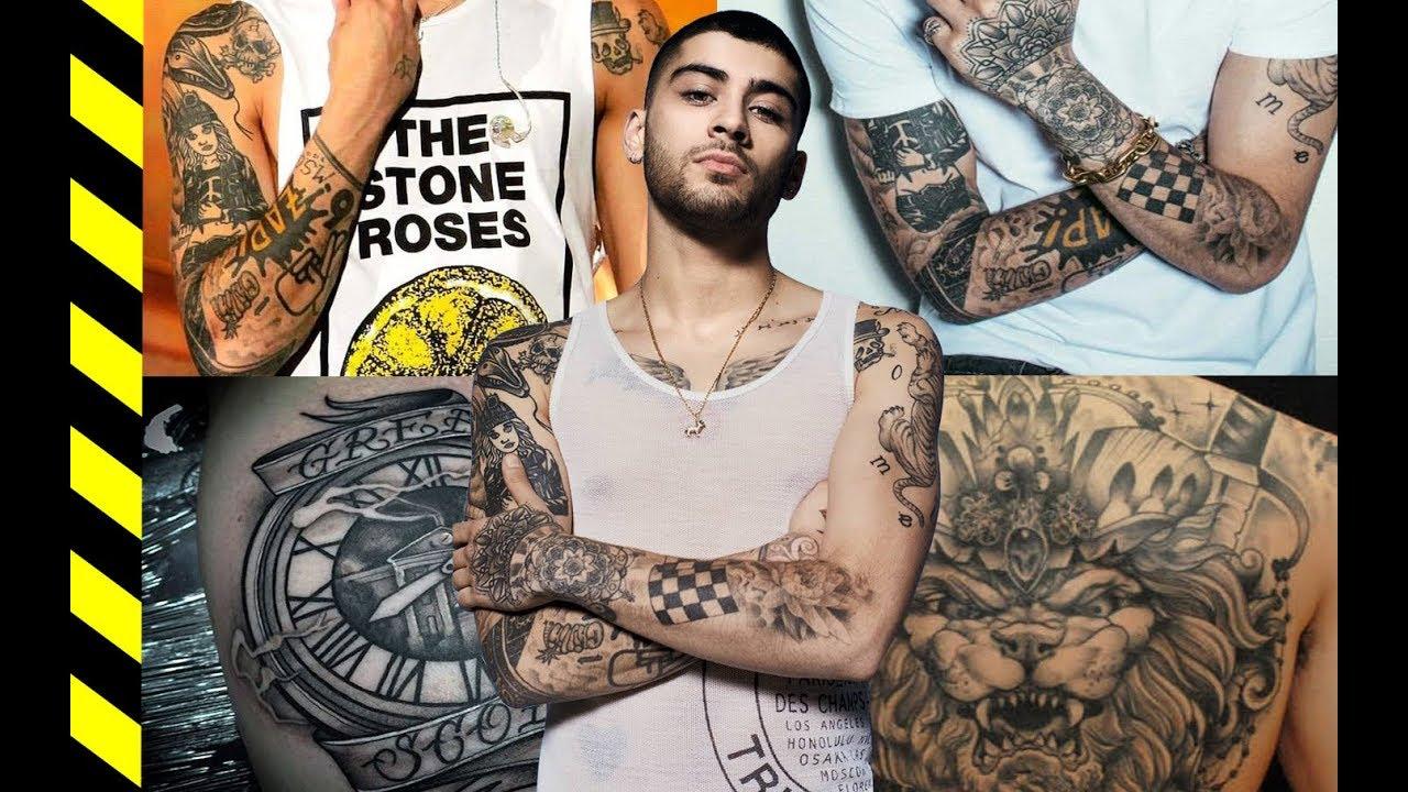 Zayn Malik Tattoos 2019 Celebrity Tattoos Their Meanings