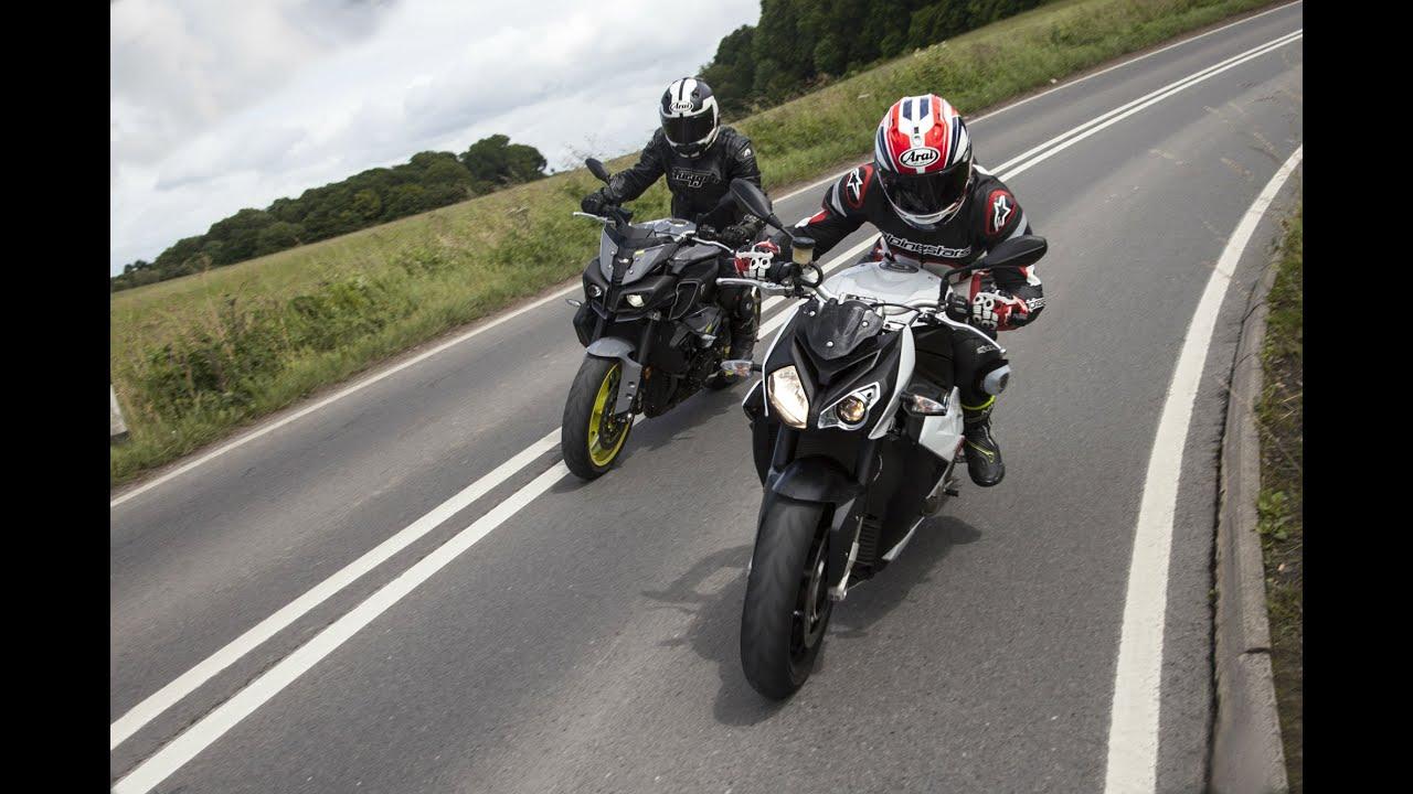 Yamaha MT-10 vs BMW S1000R Review Road Test | Visordown Motorcycle ...