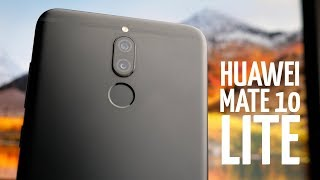 Обзор Huawei Mate 10 Lite. Смартфон с 4 камерами!