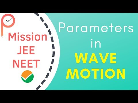 Parameters of a Wave- JEE & NEET Concepts