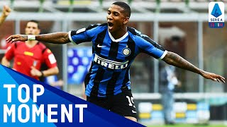 Ashley Young Volleys in from Alexis Sanchez's Cross! | Top Moment | Inter 6-0 Brescia | Serie A TIM