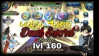 Toram Online - Dual Sword build lvl cap 160