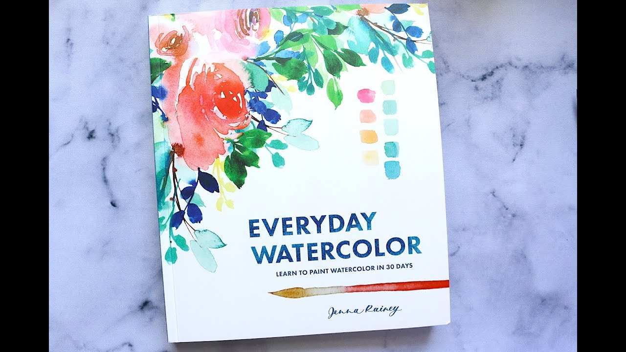 Everyday Watercolor By Jenna Rainey Book Review Youtube