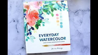 Everyday Watercolor by Jenna Rainey | Book Review