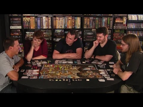 Board Game Replay - Chaos In The Old World