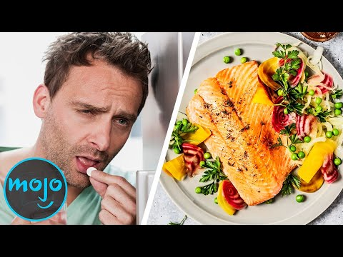 Top 10 Best Foods For A Hangover!!!