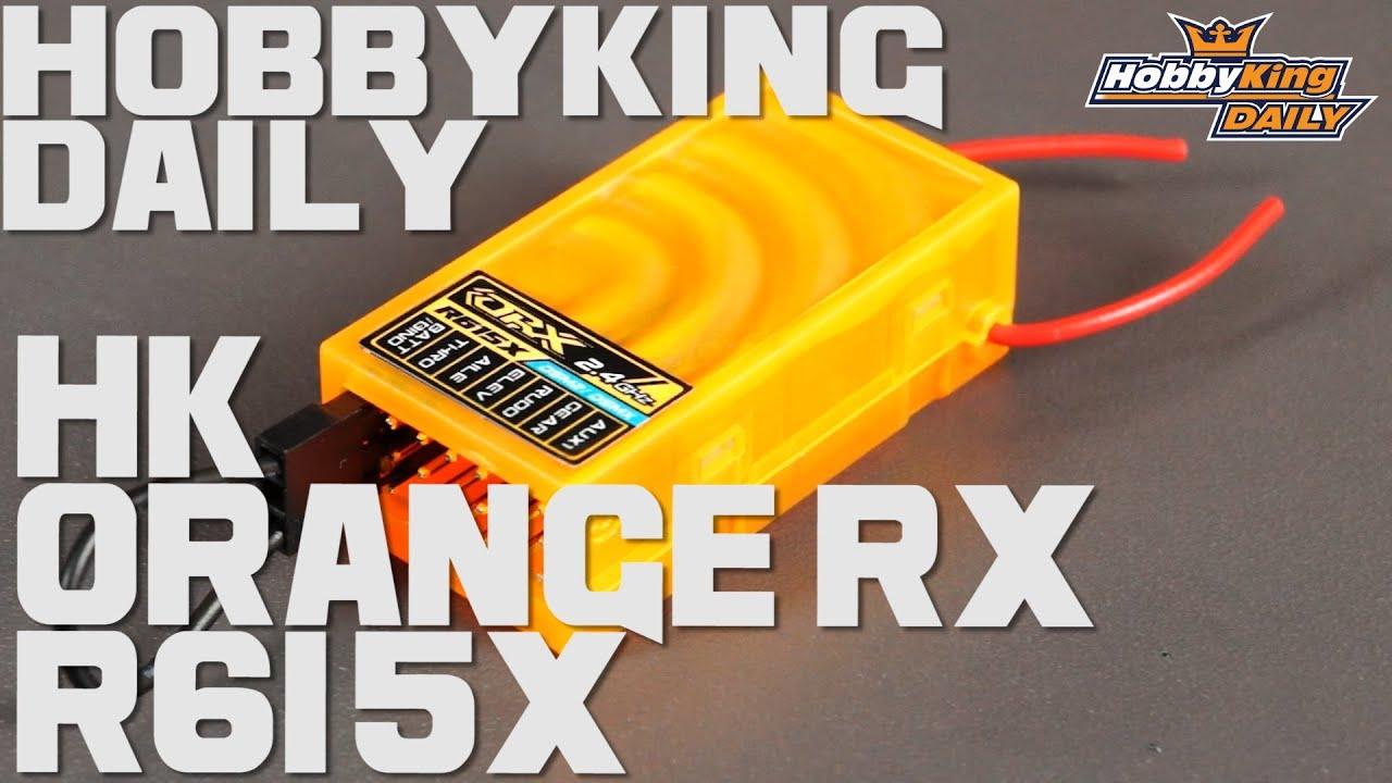 hobbyking daily orange rx r615x [ 1280 x 720 Pixel ]