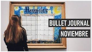 Bullet Journal Noviembre♥ (Temática: Obras de Arte)