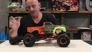 hSP Pangolin Rock Crawler RC 1:10 4WD. Gopro Hero 4 Black  Panasonic FZ300