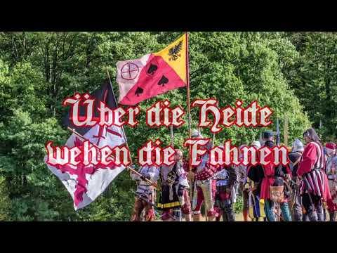 Über die Heide wehen die Fahnen - German Landsknecht Song + English translation