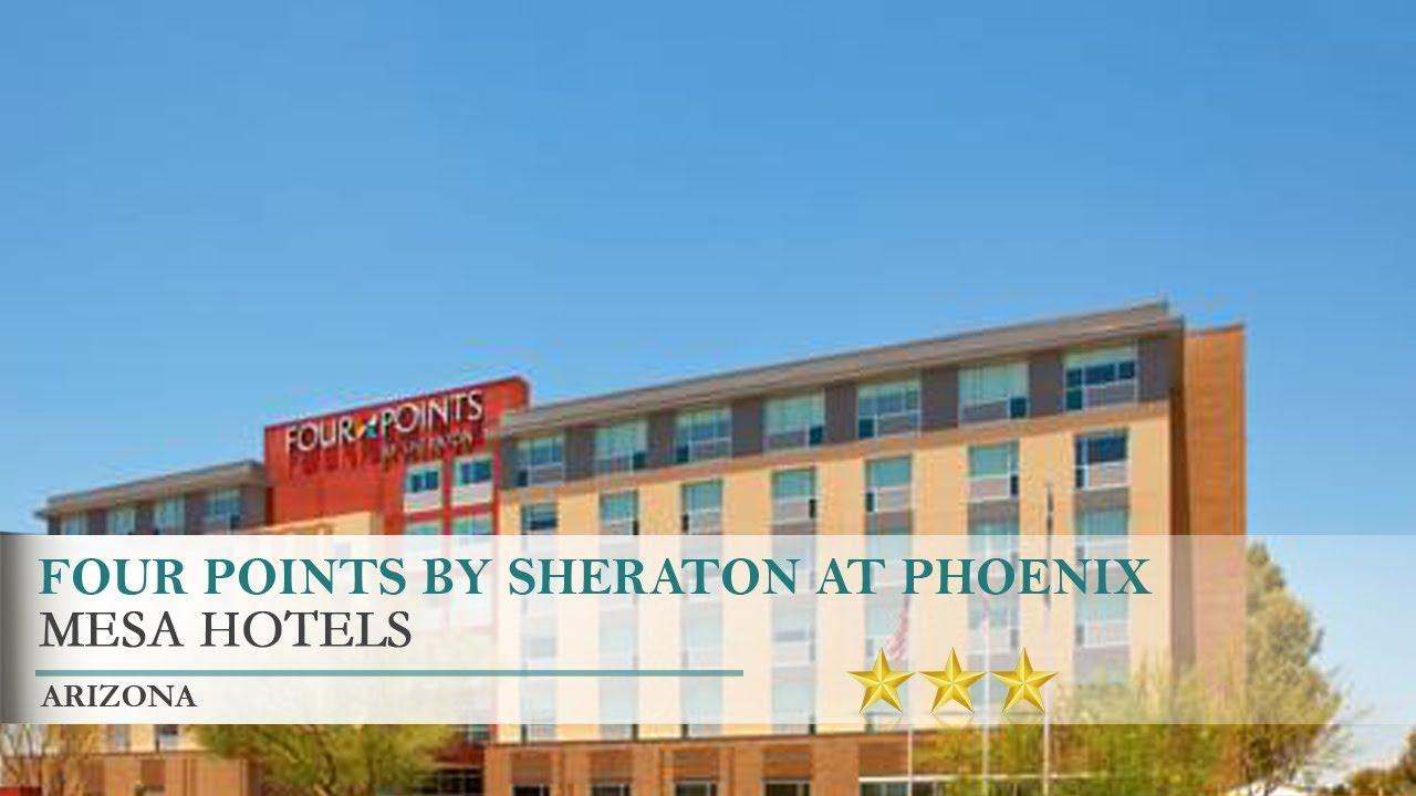 Four Points By Sheraton At Phoenix Mesa Gateway Airport Hotel Arizona