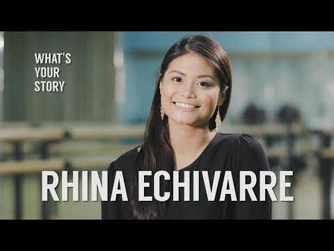 The Only Filipina Performer in Disney Cruiseline | What's Your Story Rhina