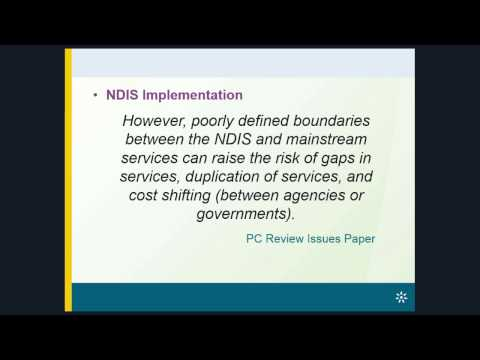 Policy Webinar - Current areas of Australian health reform