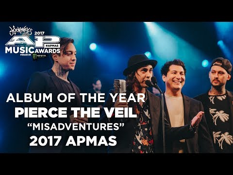 APMAs 2017 Album Of The Year: PIERCE THE VEIL'S