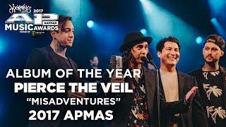 "APMAs 2017 Album Of The Year: PIERCE THE VEIL'S ""MISADVENTURES"""