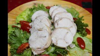 柔らかでジューシーな鶏ハムが簡単にできちゃいます♪ 調味料は3つ!(...