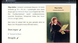 Wikipedia kan Kotava ( reklamado video / esperanto )