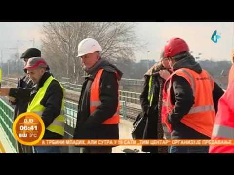 Testirana deonica pruge Beograd-Pančevo
