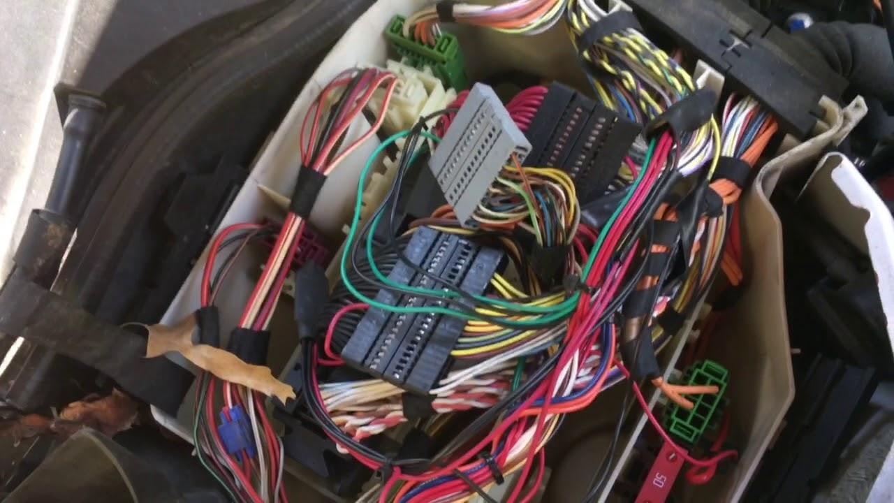 Bmw n54 JB4 G4 To G5 Rewire + o2 simulator delete