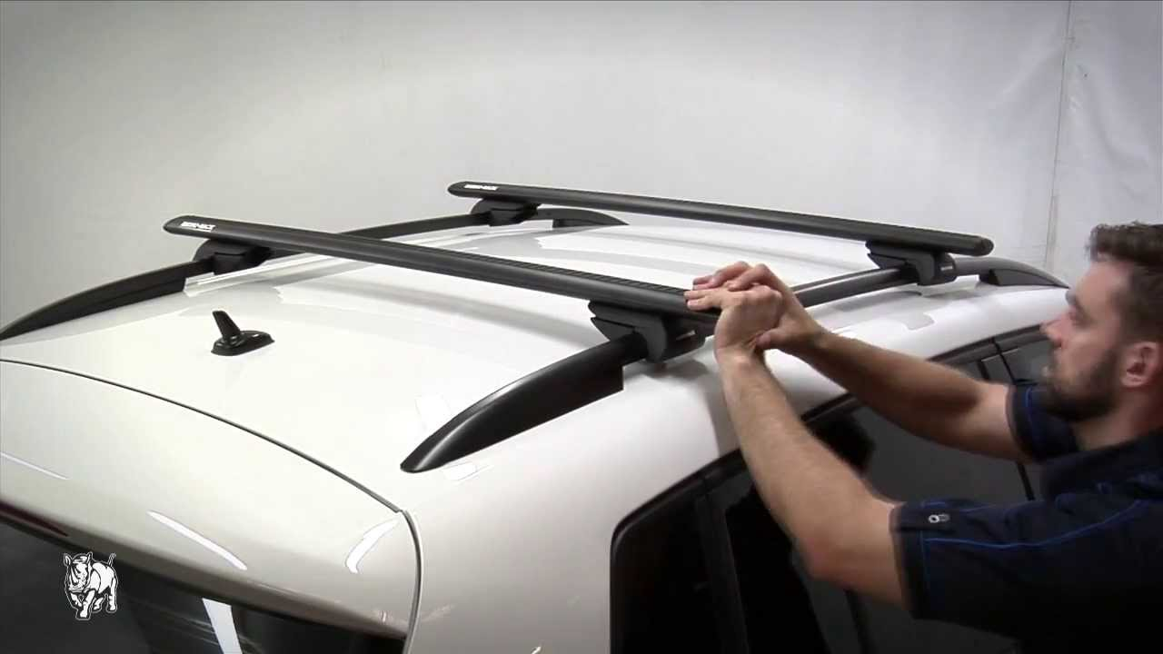 rhino rack how to fit factory rail roof rack systems doovi. Black Bedroom Furniture Sets. Home Design Ideas