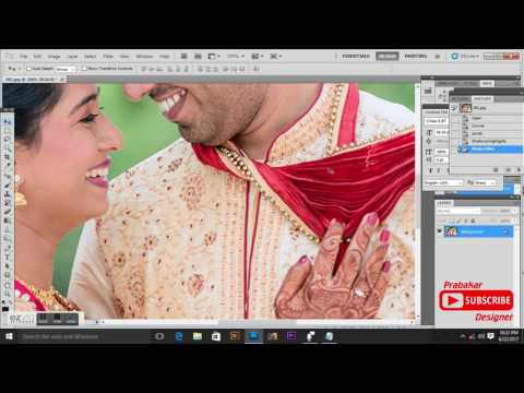 Wedding Image Color Correction In PHOTOSHOP