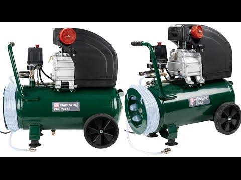 PARKSIDE Compressor PKO 500 A2 & 270 A4 UNBOXING