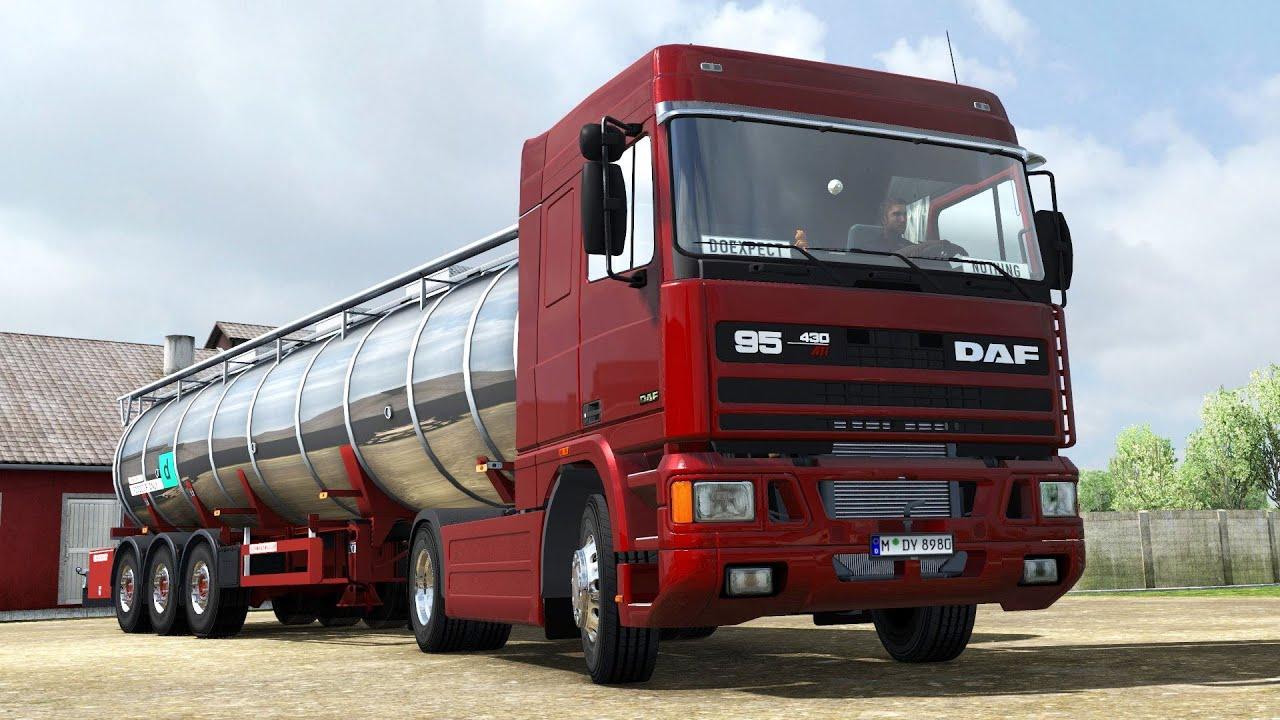 ETS2 1 35 ProMods 2 41 DAF 95ATi Esbjerg - Helsingborg