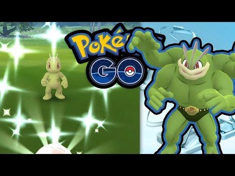 Zweites Shiny-Machollo! Kampf-Event Ausbeute | Pokémon GO Deutsch #922 thumbnail