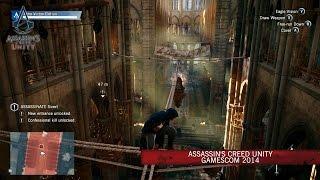 Assassin's Creed Unity GamesCom 2014 [ES]