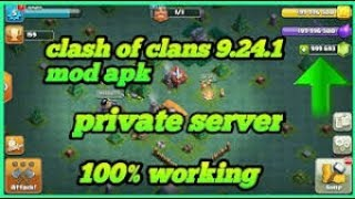 How to download CLASH OF CLANS PRIVATE SERVER 100% WORKING with builder base latest version