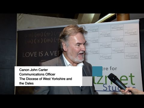 Interview with John Carter at London Premiere of Love is a Verb