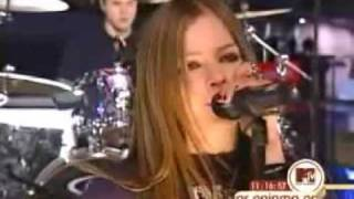 avril lavigne losing grip live 2002