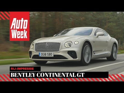 Bentley Continental GT – AutoWeek Review - English subtitles