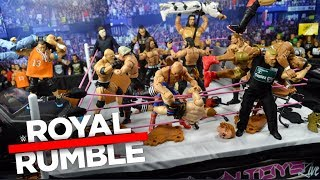 WWE ROYAL RUMBLE ACTION FIGURE MATCH! 2019!