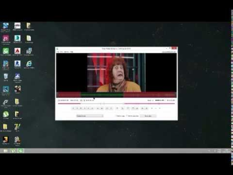 Como baixar instalar e cortar video  (FREE VÍDEO DUB)