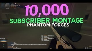 10,000 Subscriber Sniping Montage by Paradox Crooked (ROBLOX Phantom Forces)
