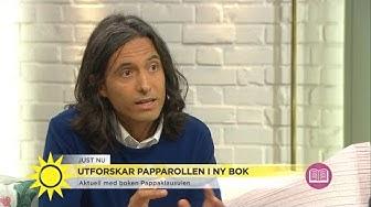 """Jonas Hassen Khemiri: """"Jag hade en tydlig idé om hur jag skulle bli som pappa"""" - Nyhetsmorgon (TV4)"""