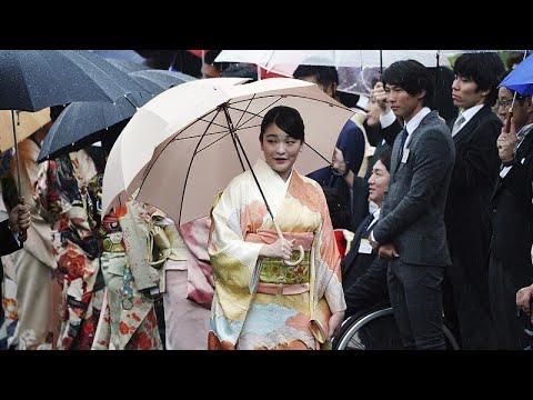 الأميرة اليابانية ماكو ستتخلى قريباً عن 1.3 مليون دولار ولقبها وتتزوج رجلاً -عادياً-  - نشر قبل 3 ساعة