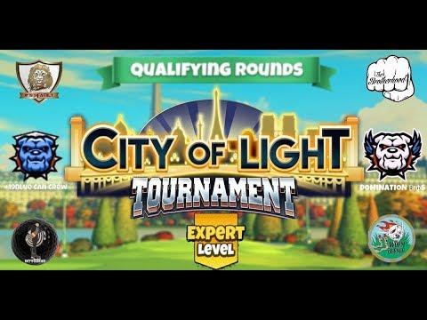 Golf Clash - City of Light Tournament - Expert Qualifying