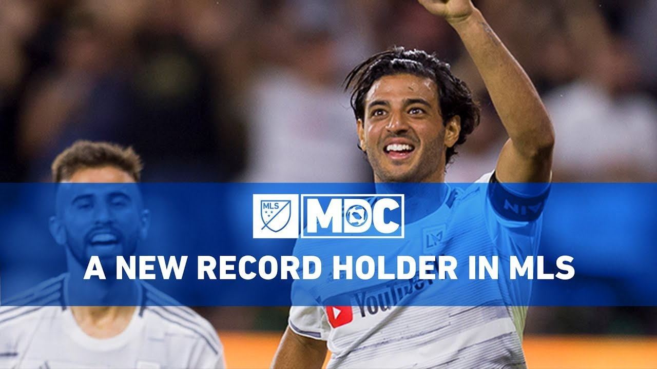 LAFC's Carlos Vela Ties Single-Season Scoring Record