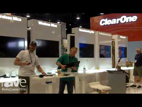 InfoComm 2016: ClearOne Previews New Products at InfoComm 2016