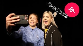 Musically and M&G with Anne Marie!