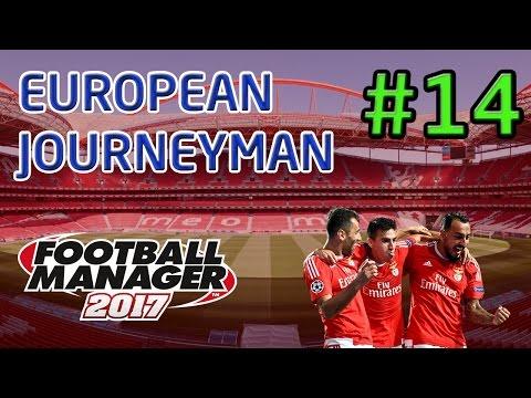 FM17 European Journeyman: Benfica - Episode 14: The Champions League Group Stage!